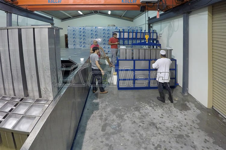 10Tons Ice Block Machine in Bahrain (4)