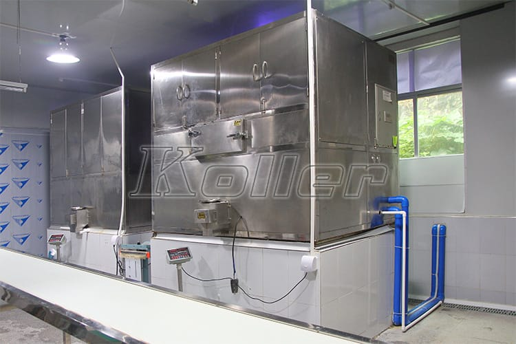 3 tons Ice Cube Machine in Guangzhou,China (5)