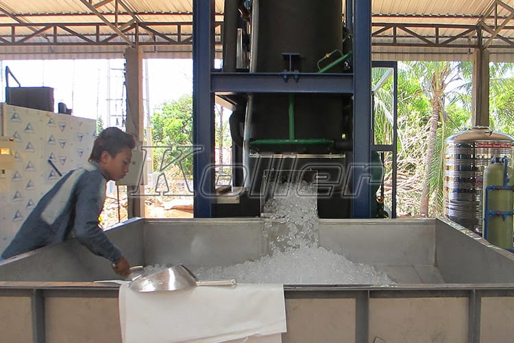 Big Capacity Tube Ice Machine in Laos (4)