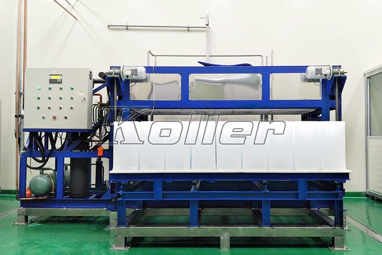 Direct Cooling Ice Block Machine in Korea (6)