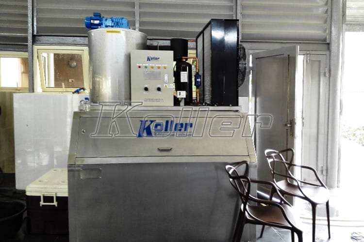 Flake Ice Machine in Africa (1)