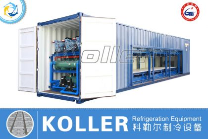 40GP Containerized Auto Ice Block Machine