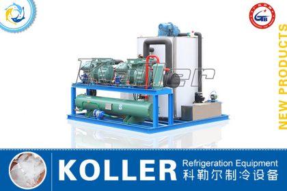 Flake Ice Machine KP100 (Water Cooling)