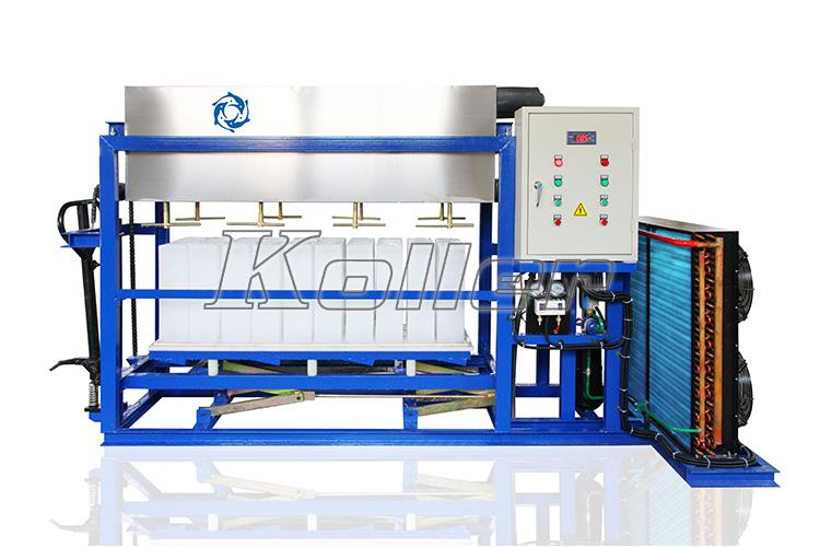 Mesin Es Balok Dengan Sistem Brine